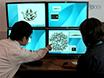 Moyenne de la glycoprotéine d'enveloppe virale Pointes de Electron Cryotomography reconstructions utilisant Jsubtomo thumbnail